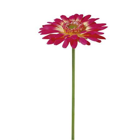 XL Διακοσμητικό λουλούδι Ζέρμπερα Φούξια 120cm