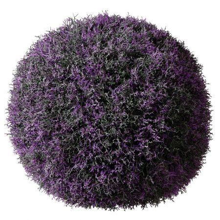 Διακοσμητική μπάλα Λεβάντα - Βρύα, 50cm