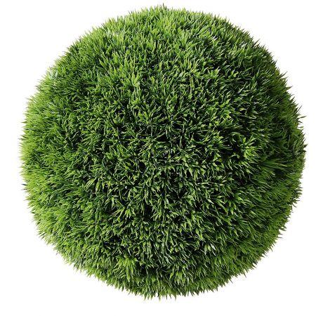 Διακοσμητική τεχνητή μπάλα γρασίδι 33cm