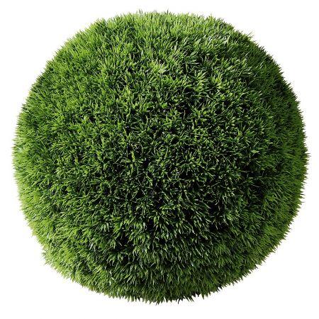 Διακοσμητική τεχνητή μπάλα γρασίδι 43cm