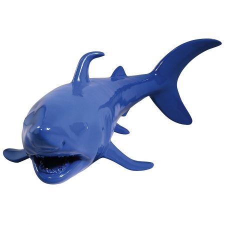 Διακοσμητικός καρχαρίας Μπλε 135x60x40cm