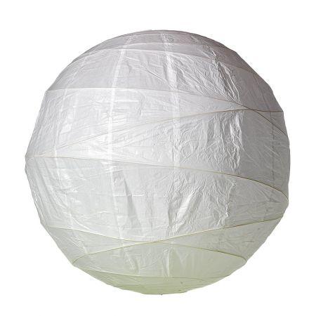 Διακοσμητικό μπαλόνι - φανάρι άσπρο, 120cm