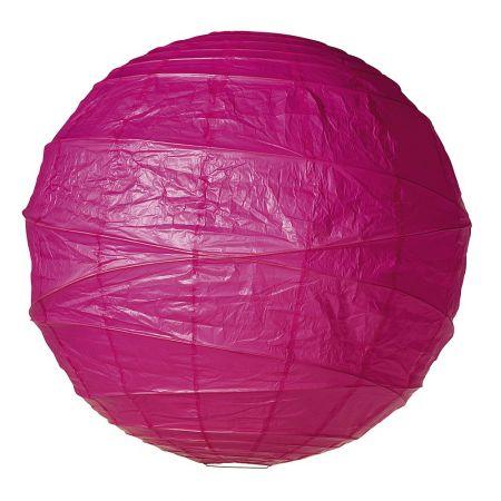 Διακοσμητικό μπαλόνι - φανάρι ρόζ, 90cm