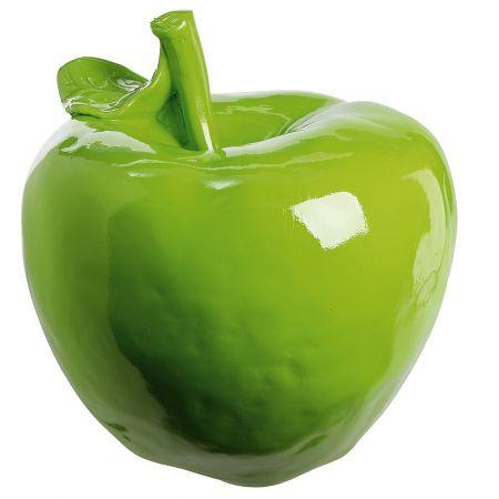 XL Διακοσμητικό μήλo Πράσινο 45cm