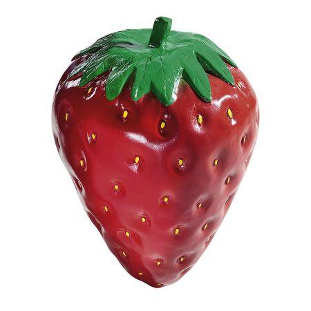 XL Διακοσμητική φράουλα Fiberglass 40cm