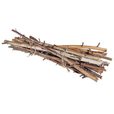 Διακοσμητική δέσμη με ξύλα 80cm