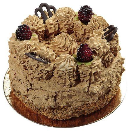 HQ Διακοσμητική τούρτα σοκολάτας απομίμηση 15cm