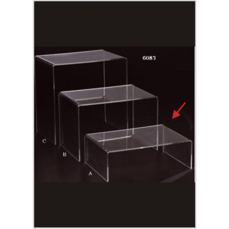 Τραπεζάκι Βιτρίνας Plexiglass Π 20x60x40cm