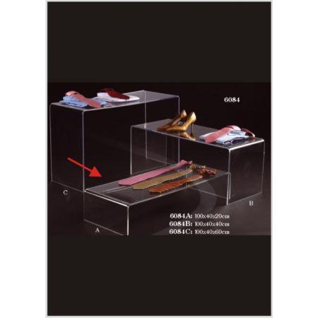 Τραπεζάκι Βιτρίνας-Π Plexiglass 20x40x100cm