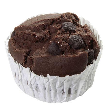 Διακοσμητικό muffin σοκολάτα - απομίμηση 6x7cm