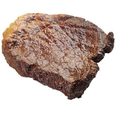 Διακοσμητική ψητή μπριζόλα - απομίμηση 10cm