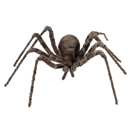 Διακοσμητική αράχνη καφέ 60cm