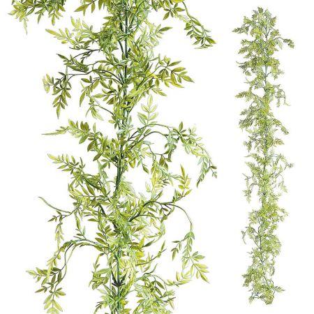 Διακοσμητική γιρλάντα με φύλλα Μυρτιάς 180cm