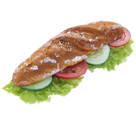 Διακοσμητικό Sandwich μαρούλι αγγούρι ντομάτα - απομίμηση 21cm