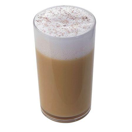 HQ Διακοσμητικό ποτήρι Latte macchiato απομίμηση 9x7cm