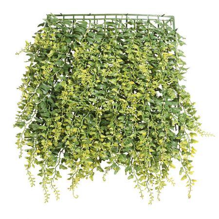 Διακοσμητικό πάνελ με φύλλα φτέρης 30x30cm