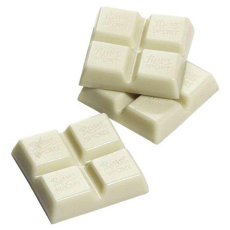 HQ Σετ 3τχ διακοσμητικά κομμάτια λευκής σοκολάτας 4,5x4,5cm