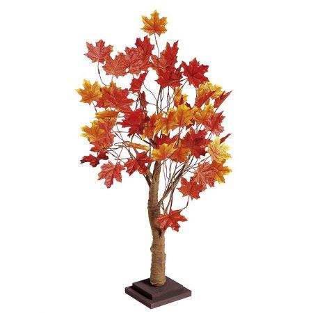 Διακοσμητικό τεχνητό δέντρο Φθινοπωρινό Σφένδαμος 70cm
