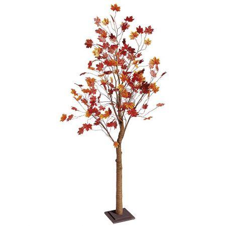 Διακοσμητικό τεχνητό δέντρο Φθινοπωρινό Σφένδαμος 200cm