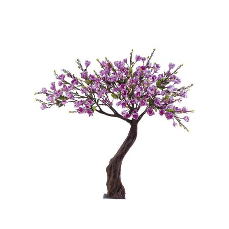 Τεχνητό δέντρο Μαγνόλια με Μωβ άνθη 180cm