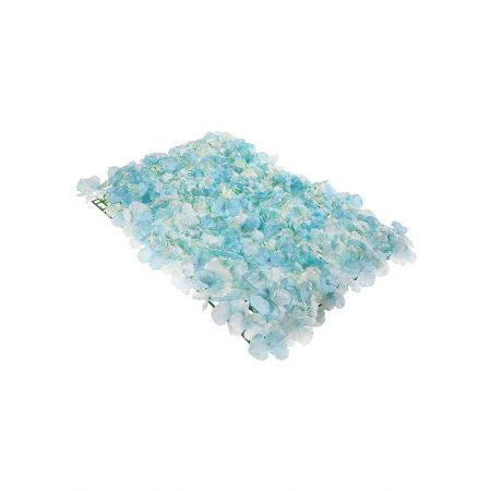 Διακοσμητικό πάνελ με Γαλάζια άνθη 40x60cm