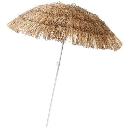 Διακοσμητική ομπρέλα παραλίας Χαβάη Φυσική 140x180cm