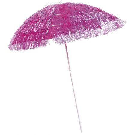 Διακοσμητική ομπρέλα παραλίας Χαβάη Φούξια 140x180cm