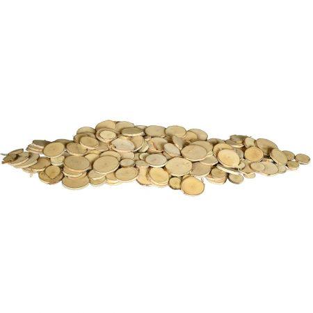 Σετ 500gr Διακοσμητικές ροδέλες ξύλου 2-6cm