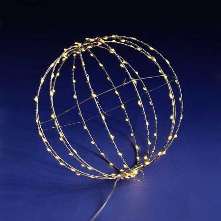 Φωτιζόμενη μπάλα 300LED IP44 30cm