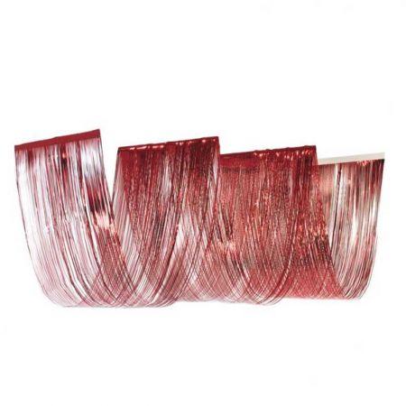 Κουρτίνα κύμα κόκκινη, 50x450cm
