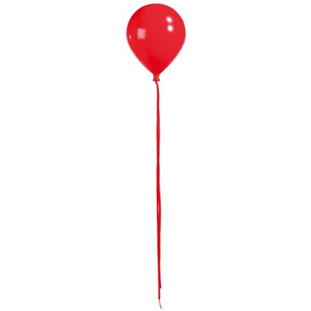 Διακοσμητικό μπαλόνι κόκκινο 25,5cm