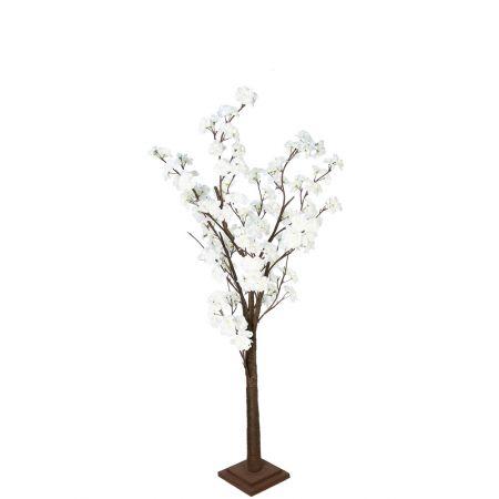 Διακοσμητικό δέντρο Κερασιά με Λευκά άνθη 120cm