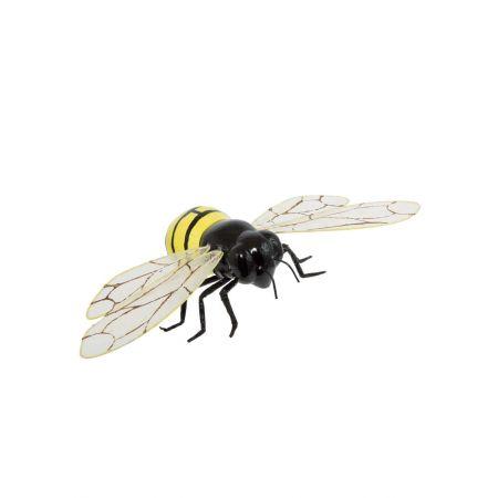 Διακοσμητική πλαστική μέλισσα, 24x11cm