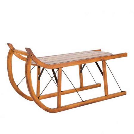 Διακοσμητικό ξύλινο έλκηθρο 100x42x55cm