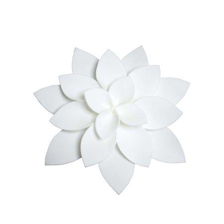 Διακοσμητικό άνθος ανεμώνης Λευκό , 40cm