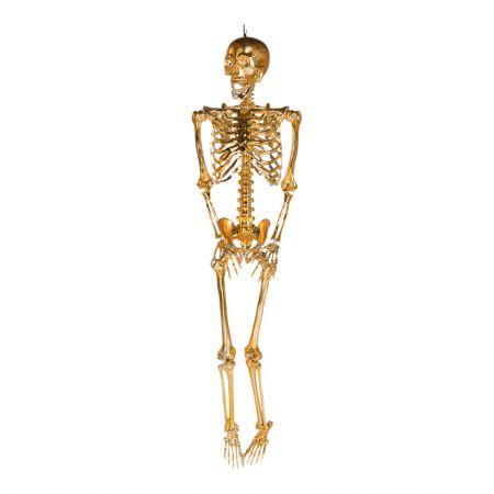 Διακοσμητικός σκελετός Χρυσός 165cm