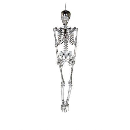 Διακοσμητικός σκελετός Ασημί 165cm