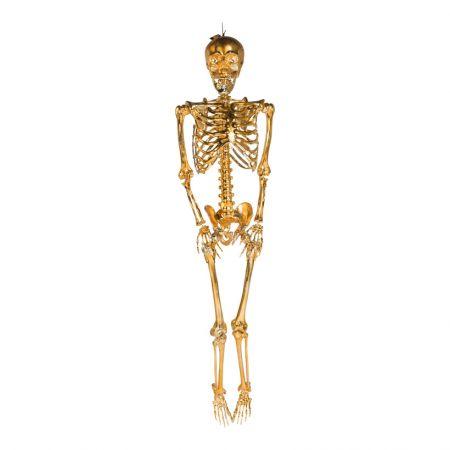 Διακοσμητικός σκελετός Χρυσός 90cm