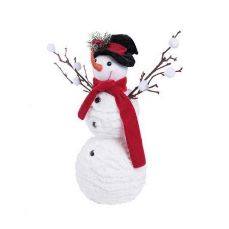 Διακοσμητικός χιονάνθρωπος 34cm