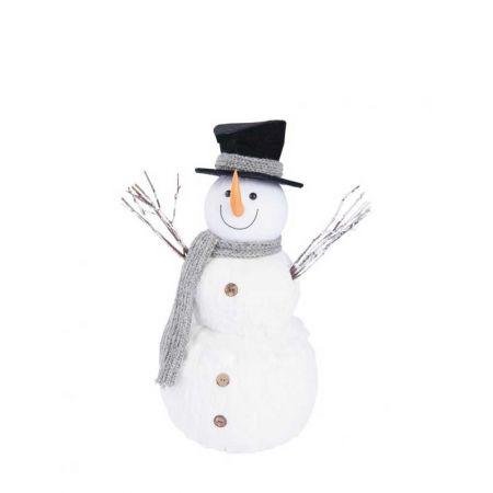 Διακοσμητικός χιονάνθρωπος 52cm