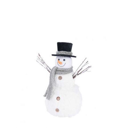 Διακοσμητικός χιονάνθρωπος 40cm
