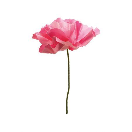 XL Διακοσμητικό άνθος παιώνιας foam Ροζ 50cm