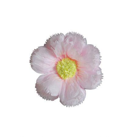 XL Διακοσμητικό χάρτινο άνθος Ροζ 40cm