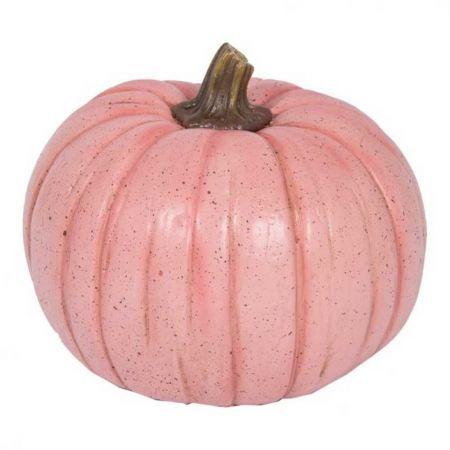 Διακοσμητική κολοκύθα ροζ , 21cm
