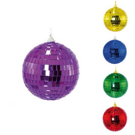 Διακοσμητική Disco μπάλα Μωβ , 8cm