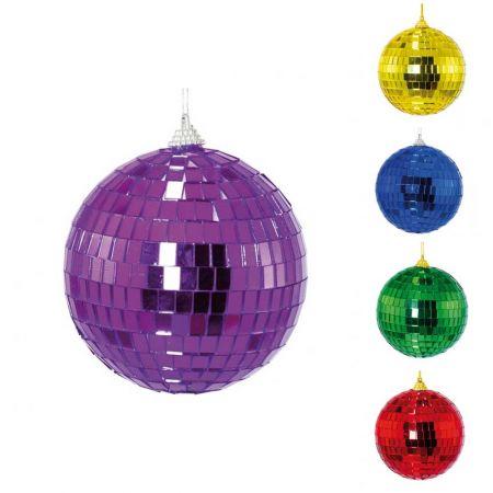 Διακοσμητική Disco μπάλα Μωβ , 10cm