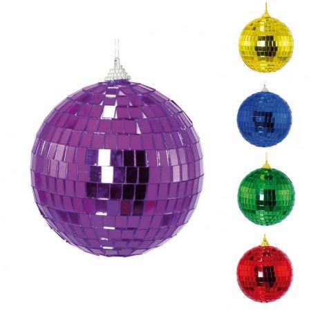 Διακοσμητική Disco μπάλα Μωβ , 15cm