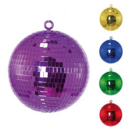 Διακοσμητική Disco μπάλα Μωβ , 20cm