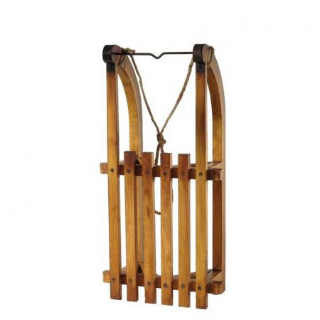 Διακοσμητικό ξύλινο έλκηθρο 60x30x16cm