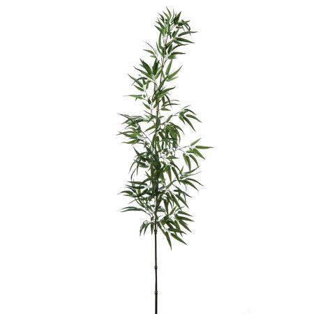 Διακοσμητικό τεχνητό Κλαδί μπαμπού Πράσινο 180cm